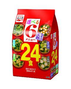 永谷園 24食のおみそ汁 6種