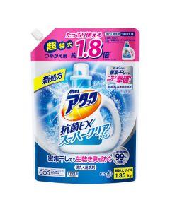 アタック 抗菌EX スーパークリアジェル 特大 詰替用 1.35kg