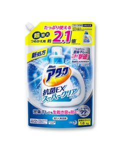 アタック抗菌EXスーパークリアジェル 超特大 詰替用 1600g