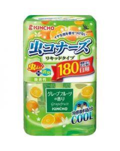 KINCHO 虫コナーズ リキッドタイプ 180日用 グレープフルーツの香り 400ml