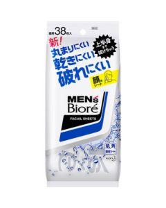 メンズビオレ 洗顔シート 38枚