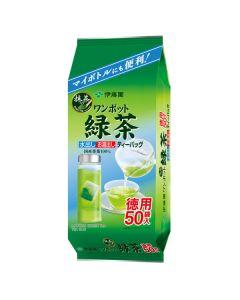 伊藤園 ワンポット緑茶 ティーバッグ 50P入り