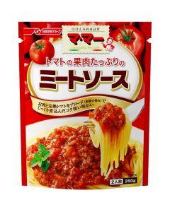 日清フーズ マ・マー トマトの果肉たっぷりミートソース 260g