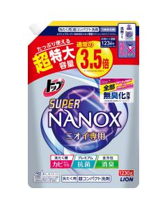 トップ スーパーナノックス ニオイ専用 超コンパクト洗剤 超特大 1230g