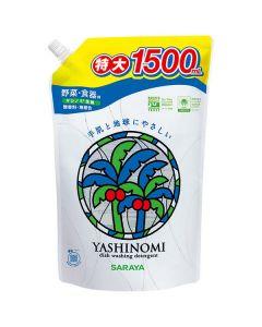 ヤシノミ洗剤 食器 無香料・無着色 詰替用 1500ml