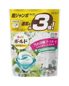 ボールド ジェルボール3D グリーンガーデン&ミュゲの香り 詰替 超ジャンボ 46粒入