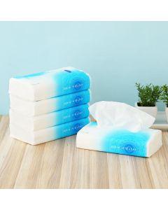 エリエール +Water ティッシュペーパー 120組 5パック ソフトパック