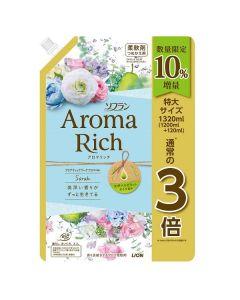 ソフラン アロマリッチ サラ 詰替 特大10%増量品 1320ml