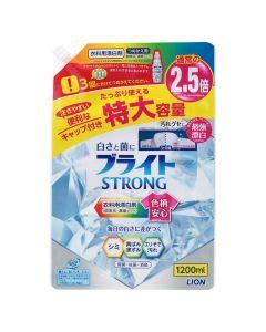 ライオン ブライトSTRONG 衣類用漂白剤 詰替 特大 1200ml