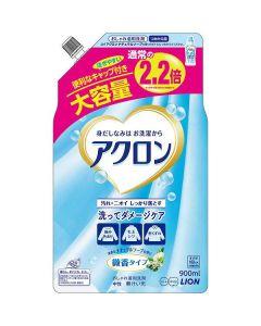 アクロン ナチュラルソープの香り 詰替 大容量 900ml