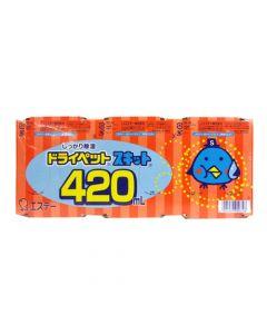 ドライペットスキット 420ml 3個入