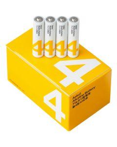 アルカリ乾電池 単4形 4本入