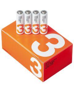 アルカリ乾電池 単3形 4本入